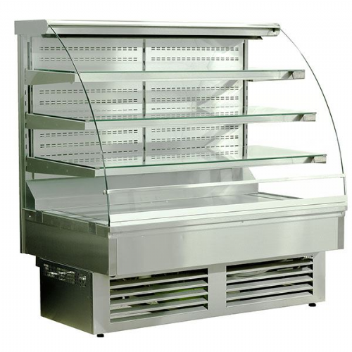 Igloo JA60WS OPEN Stainless Open Front Self Service Pastry Case